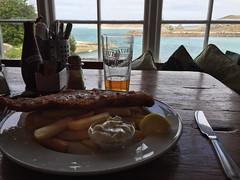 Fish and chips in the Turk's Head, St Agnes (Chris Walpole) Tags: unitedkingdom gb islesofscilly