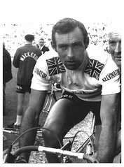 Vin Denson, Tour de France. (Paris-Roubaix) Tags: white black france colin vintage de cycling tour time lewis photographs vin 1968 trial kelvinator prologue denson mackesoncondor