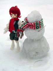 Snow Man (nattouK) Tags: soom yosd feny