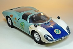 Nostalgic Car Kits  Otaki  1/16 Alfa Romeo Coupe 33  1 (My Toy Museum) Tags: car 33 plastic alfa romeo nostalgic kit coupe otaki