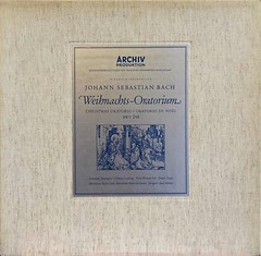 Bach Christmas Oratorio Weihnachts-Oratorium - Richter Archiv (sacqueboutier) Tags: vintage vinyl bach lp classical classicalmusic handel lps archiv oratorio lpcollection vinylcollection vinyllover vinylcollector vinylnation lplover