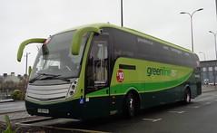 FJ60HYK Greenline 757 at the Travelodge, Blackpool (j.a.sanderson) Tags: volvo coach travelodge greenline blackpool caetano luton coaches 757 arriva levante 4102 b9r fj60hyk