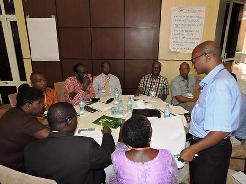 Tanzania team discussion