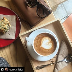 "#EspressoBarPopUpbb * Sat & Sun 9-5 pm. @caro_mit12 Tnx for coming on Day 1, and sharing this cool pic! you're awesome! * ""Saturday mornings are perfect for scones & cappuccino  #coffee #capuccino #scone"" #jceats #jcmakeityours #hobokeneats #n (bucketandbay) Tags: jerseycity gelato bucketandbay"