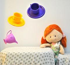 Crazy Tea Party (tasha.eliya) Tags: toys toystory floating levitation teaparty stillphotography