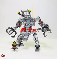 OLYMPUS DIGITAL CAMERA (shirokeima) Tags: world geek lego suit shiro alternative mecha moc revamp exo