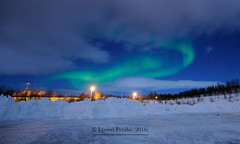 Northern_Lights_19_02_2016_III (LyonelPerabo) Tags: blue winter light sky cloud snow green ice norway night clouds dark landscape lights norge skies darkness cloudy snowy north arctic norwegian nighttime aurora nordic polar february icy northern nord northernlights auroraborealis tromso troms troms 2016 northnorway northernlight