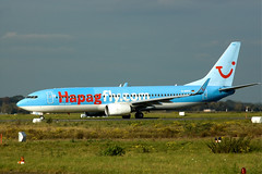 B737 D-AHFZ Hapagfly com (Avia-Photo) Tags: plane airplane airport pentax aircraft aviation jet aeroplane airline boeing airlines flugzeug airliner avion airliners planespotting aviacion luftfahrt dus boeing737 spotter eddl