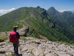 Mt. Yoko-Dake 2,829m and Mt. Aka-Dake 2,899m (Hiroyoshi Wada) Tags: mountain mountains nature japan trekking landscape climbing nagano
