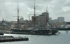 HMS Warrior (guyfogwill) Tags: france boats unitedkingdom portsmouth gbr hmswarrior hants