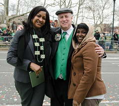Parade Director Michael Bradley and friends