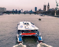 River sightseeing (Shifiku) Tags: london bigben riverthames housesofparliment elizabethtower
