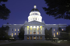 California Capital (dcnelson1898) Tags: california city longexposure nightphotography night town tripod sacramento statecapitol centralvalley sacramentocounty nikond750