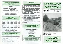 1999 voorzijde folder CFB (Arno@Rsd) Tags: folder cfb dienstregeling chemindeferdubocq