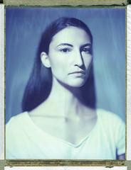 Mina (Braca Nadezdic) Tags: portrait analog studio polaroid 8x10 expired sinar heliar polaroid809 polaroid8x10 heliar300