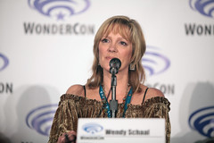 Wendy Schaal (Gage Skidmore) Tags: california robert matt scott michael los kevin dad baker angeles center jordan brett american bradley convention dee tbs wendy blum richardson weitzman wondercon 2016 schaal grimes cawley maitia
