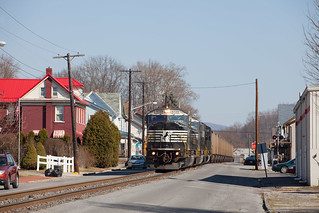 NS 537 NS 6729 at Tyrone, PA on the NBER