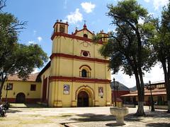"San Cristóbal de las Casas: l'église San Francisco <a style=""margin-left:10px; font-size:0.8em;"" href=""http://www.flickr.com/photos/127723101@N04/25562298761/"" target=""_blank"">@flickr</a>"