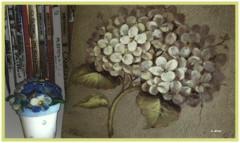 Hortênsias (o.dirce) Tags: art artesanato pintura interessante hortênsias odirce