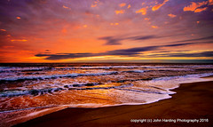 Daybreak at Duck (T i s d a l e) Tags: summer beach sunrise dawn coast duck september outerbanks easternnc tisdale 2014 daybreakatduck