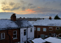 Cold morning in Preston (Tony Worrall Foto) Tags: county city uk houses roof winter england urban snow cold ice weather frozen cool stream tour open place rooftops northwest unitedkingdom snowy country north visit scene location lancashire area preston bleak icy ashton northern update chill attraction lancs terraced welovethenorth
