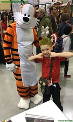 2016 ECCC 41 Calivin and Hobbs (Cosmic Times) Tags: city comic cosplay calvin times emerald cosmic con hobbs eccc