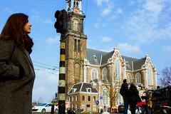 Westerkerk (hadrien.hart) Tags: amsterdam canal tram ij gracht westerkerk tetterode