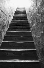 Blick nach oben @  Avignon (sunnybille) Tags: bw france canon frankreich stair treppe sw avignon escaliers 2015 blicknachoben