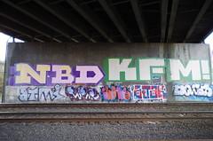 (bagtanger) Tags: seattle graffiti nbd kfm wwl btm cruks dogs ajar labrat