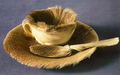 Meret Oppenheim, Djeuner en fourrure, 1936 (esthetiquerelationnelle) Tags: tasse oeuvre fourrure cuillre djeuner surraliste oppenhein