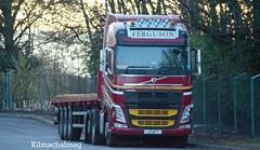Ferguson Transport Corpach Volvo FH  L6 AFT (Kilmachalmag) Tags: 6 fish euro neil rope sheet feed annat grangemouth flatbed invergordon corpach kishorn skretting