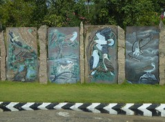 Bird Murals (Aidan McRae Thomson) Tags: india mural tamilnadu pondicherry puducherry