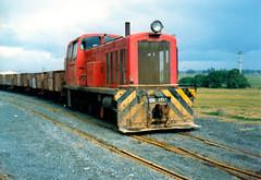 DSB 1125 c1982 Awatoto, NZ (DX 5517) Tags: dsb 1125 switcher 060 shunter vulcanfoundry nzr awatoto dsbclass dsb1125