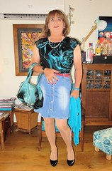 Off to the shops (Trixy Deans) Tags: cute sexy classic tv legs cd crossdressing tgirl tranny transvestite transgendered crossdresser shortskirts tg sexylegs transsexual lbd classy shemale littleblackdress shemales xdresser shortdress sexyheels sexytransvestite