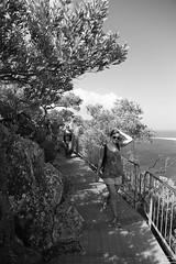 0D6A9087 - The long way down (Stephen Baldwin Photography) Tags: ocean park blackandwhite water monochrome bay australia national walkway nsw headland shoal tomaree