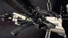 Hornet 043 (starcitizenhungary) Tags: port screenshot ships hornet crusader aegis vanguard anvil olisar