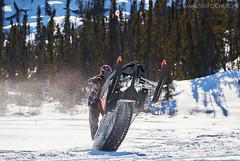 Stephen M. Fochuk 200-3 (Stephen M. Fochuk) Tags: winter action sunny arcticcat northwestterritories snowmobile preludelake