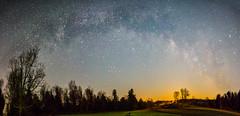Sigel Night Rainbow (Troy A. Snead) Tags: nightphotography astrophotography astronomy nightsky starrynight milkyway astrophotos milkywaygalaxy astroscape milkywayseason milkywayrainbow