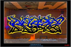 Artist: Rekz (pharoahsax) Tags: world street urban bw streetart get art colors wall writing germany painting deutschland graffiti artwork mural paint artist expression kunst tag tags spray peinture urbanart painter writer graff baden karlsruhe ka legal spraycan wrttemberg sden pmbvw worldgetcolors