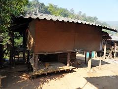 Doi Inthanon NP, Thailand (Jan-2016) 10-001 (MistyTree Adventures) Tags: house building thailand wooden asia seasia outdoor traditional karen hilltribe doiinthanon panasoniclumix karenhilltribe doiinthanonnationalpark hilltribevillage