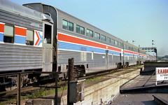 Amtrak Hi-Level Coaches at Joliet (craigsanders429) Tags: amtrak passengertrains passengercars jolietillinois amtraktrains amtrakstations amtrakinillinois amtrakhilevelcoaches amtrakslonestar