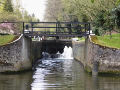 Bowers Lock ii (Gilder Kate) Tags: lumix lock surrey panasonic april wey weynavigation burpham panasoniclumix bowerslock tz70 dmctz70 panasoniclumixdmctz70
