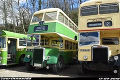 786 (northwest85) Tags: bus london museum brighton 186 gathering 1956 titan 119 leyland ruf displaying brooklands 786 southdown pd2 ruf186