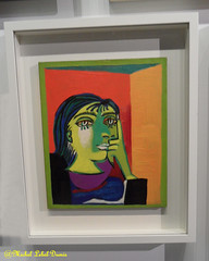 Pablo Picasso - Portrait de Dora Maar, 23 novembre 1937, Huile sur toile (m.lebel) Tags: portrait paris france exhibition exposition picasso iledefrance pablopicasso oiloncanvas grandpalais cubism cubisme doramaar huilesurtoile picassomania