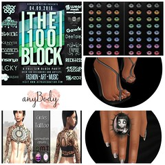 100 BLOCK & ANYBODY - opens today! (Punki`s Fashion Passion) Tags: junk moda anybody pms zoz theface maitreya 100block elua catwa dirtystories americanbazaar suicidalunborn roullet3event