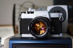 Guess what I found today? (rolandmks7) Tags: 50mm pentax takumar f14 spotmatic honeywell sonynex5n