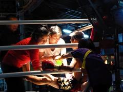 Chiang Mai (Muay Thai Boxing), Thailand (Jan-2016) 10-008 (MistyTree Adventures) Tags: thailand asia seasia indoor massage chiangmai boxing preparation muaythai thaiboxing boxingring panasoniclumix thapaeboxingstadium