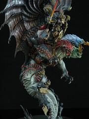 Warhammer Archaeon the Everchosen (T Markham) Tags: monster stencil chaos warhammer gamesworkshop miniwargamingcom archaeon