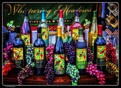 Have Some Wine_HDR (Kool Cats Photography over 7 Million Views) Tags: red color green oklahoma festival route66 wine bottles display outdoor text grapes hdr edmond artsfestival winebottles ef24105mmf4lisusm canoneos6d