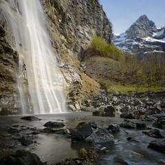 In The Light (jean paul lesage) Tags: longexposure alps alpes waterfall cascade sixt hautesavoie nd400 boutdumonde poselongue faucigny sixtfercheval cascadedelavogealle
